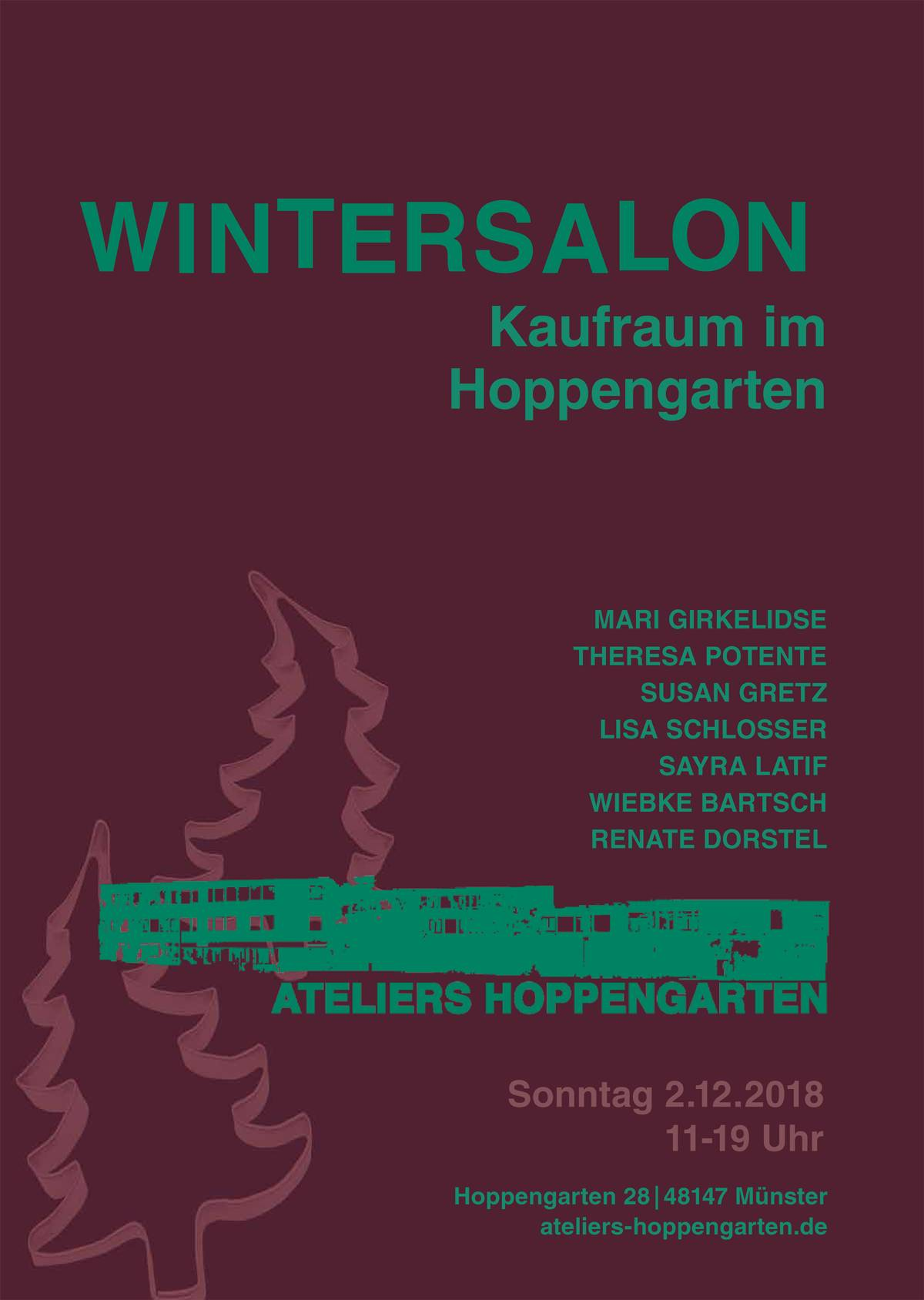 Plakat Wintersalon 2018 Webversion